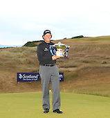 Phil MICKELSON (USA) is the 2013 Aberdeen Asset Management Scottish Open Champion. The tournament was  played over Castle Stuart Golf Links, Inverness, Scotland from 11th to 14th July 2013: Picture Stuart Adams www.golftourimages.com: 14th July 2013