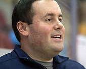 Matt LaMalfa (Merrimack - Dir-Hockey Ops) - The visiting Merrimack College Warriors defeated the Boston University Terriers 4-1 to complete a regular season sweep on Friday, January 27, 2017, at Agganis Arena in Boston, Massachusetts.The visiting Merrimack College Warriors defeated the Boston University Terriers 4-1 to complete a regular season sweep on Friday, January 27, 2017, at Agganis Arena in Boston, Massachusetts.