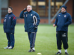 """Ally McCoist in Brian Clough moment """"You lot are useless"""" as Kenny McDowall is laughing"""