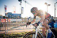 Belgian National Champion Sanne Cant (BEL/Iko-Crelan)<br /> <br /> 2020 Urban Cross Kortrijk (BEL)<br /> women's race<br /> <br /> ©kramon