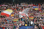 Atletico de Madrid's supporters during Champions League 2015/2016 match. September 30,2015. (ALTERPHOTOS/Acero)