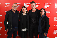 """John Cooper, director, Clea Duvall and producer, Paul Bernon and Kim Yutani<br /> arrives for the screening of """"The Intervention"""" as part of the Sundance Film Festival: London 2016 at the Picturehouse Central, London.<br /> <br /> <br /> ©Ash Knotek  D3127  03/06/2016"""
