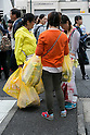 Chinese Tourist Shopping in Tokyo during Golden Week