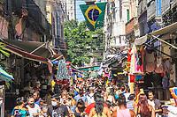 15/12/2020 - MOVIMENTO NO COMÉRCIO POPULAR DO RIO DE JANEIRO