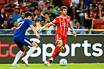 Bayern Munich Forward Thomas Muller (R) in action during the International Champions Cup match between Chelsea FC and FC Bayern Munich at National Stadium on July 25, 2017 in Singapore. Photo by Marcio Rodrigo Machado / Power Sport Images