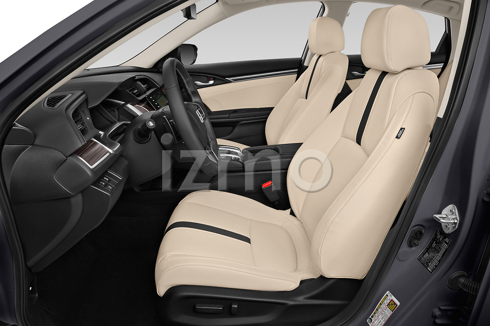 Front seat view of 2021, 2020, 2019 Honda Civic-Sedan Touring 4 Door Sedan Front Seat  car photos