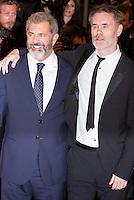 MEL GIBSON, JEAN-FRANCOIS RICHET - CANNES 2016 - MONTEE DU FILM 'BLOOD FATHER'