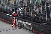 #20: Christopher Bell, Joe Gibbs Racing, Toyota Supra Rheem celebrates his win
