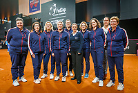The Hague, The Netherlands, Februari 8, 2020,    Sportcampus, FedCup  Netherlands -  Balarus, Lines woman<br /> Photo: Tennisimages/Henk Koster