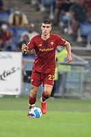 12th September 2021; Olimpico Stadium, Rome, Italy; Serie A championship football, AS Roma versus US Sassulo ; Gianluca Mancini of As Roma