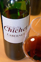 Cabernet. Mas Chichet, Roussillon, France