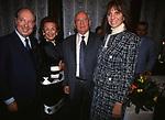 CARLO GIOVANELLI CON IRENE GALITZINE, MIKHAIL GORBACIOV E CLAUDIA RUSPOLI <br /> COCKTAIL PARTY IN ONORE DI GORBACIOV - HOTEL BAGLIONI ROMA 11-2000