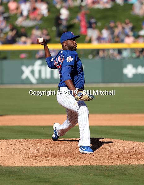 Alberto Baldonado - Chicago Cubs 2019 spring training (Bill Mitchell)