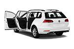 Car images close up view of a 2019 Volkswagen Golf SportWagen S 5 Door Wagon doors