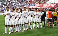 USA team, World Cup qualifier between USA and El Salvador, 2004.