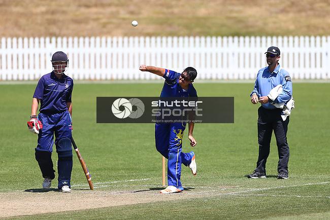 NELSON, NEW ZEALAND - February 8: Cricket - ACOB v Nelson College Saxton Oval Nelson, New Zealand. Saturday 8 Februrary 2020. (Photo by Evan Barnes/Shuttersport Limited)