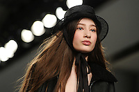 Catwalk<br /> at the Bora Aksu AW17 show as part of London Fashion Week AW17 at 180 Strand, London.<br /> <br /> <br /> ©Ash Knotek  D3230  17/02/2017