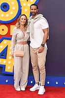 """Kate Wright and Rio Ferdinand<br /> arriving for the """"Toy Story 4"""" premiere at the Odeon Luxe, Leicester Square, London<br /> <br /> ©Ash Knotek  D3509  16/06/2019"""