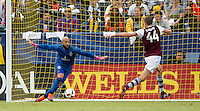 , Carson, CA - October 30, 2016: The Los Angeles Galaxy defeat the Colorado Rapids 1-0 in the first game of the Western Conference Semifinals at StubHub Center.