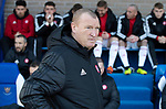 St Johnstone v Hamilton Accies…26.10.19   McDiarmid Park   SPFL<br />Accies boss Brian Rice<br />Picture by Graeme Hart.<br />Copyright Perthshire Picture Agency<br />Tel: 01738 623350  Mobile: 07990 594431