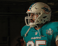 04.10.2015. London, England. NFL International Series. Miami Dolphins versus New York Jets. Dolphins' Sam Brenner