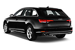 Car pictures of rear three quarter view of a 2018 Audi A4 Avant Sport 5 Door Wagon angular rear