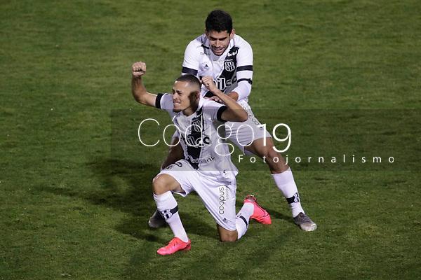 Campinas (SP), 21/08/2020 - Ponte Preta - CSA - Joao Paulo comemora gol da Ponte Preta. Partida entre Ponte Preta e CSA pelo Campeonato Brasileiro 2020 da serie B, nesta sexta-feira (21), no Estadio Moisés Lucarelli, em Campinas (SP).