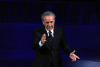Michele Santoro .Roma 01/04/2010 .Rai Anno Zero.Foto Gb / Insidefoto