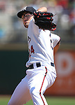 Reno Aces' Braden Shipley pitches against the Salt Lake Bees at Greater Nevada Field in Reno, Nev., on Tuesday, June 7, 2016. <br />
