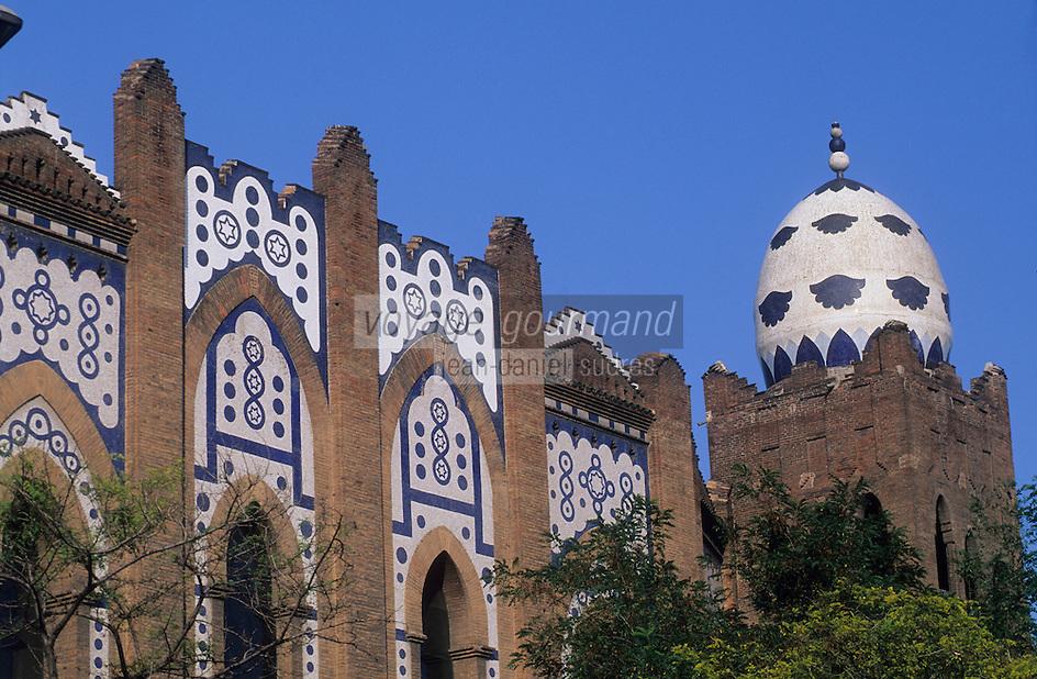 Europe/Espagne/Catalogne/Barcelone :  Arènes La Monumental - PLaça Monumental dels Braus