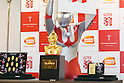 $1 million gold Ultraman bust in Ginza Tanaka