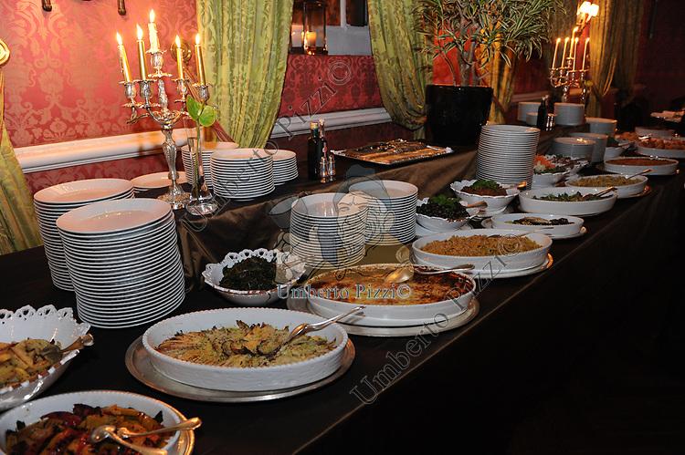 IL BUFFET<br /> COMPLEANNO SALVATORE D'AGOSTINO<br /> HOTEL MAJESTIC ROMA 2011