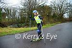 Shauna Moroney, Killorglin who spent seven hours roller skiing 50k.