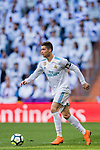 Cristiano Ronaldo of Real Madrid in action during the La Liga 2017-18 match between Real Madrid and Deportivo Alaves at Santiago Bernabeu Stadium on February 24 2018 in Madrid, Spain. Photo by Diego Souto / Power Sport Images