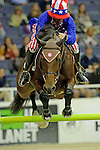 Todd Minikus Wins the $20,000 Gamblers Choice Costume Jump at The 53rd annual Washington International Horse Show at the Verizon Center in  Washington D.C. on 10/27/11 (Ryan Lasek / Eclipse Sportwire)