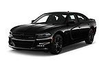 2017 Dodge Charger R/T 4 Door Sedan angular front stock photos of front three quarter view