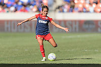 Houston, TX - Sunday Oct. 09, 2016: Caprice Dydasco during the National Women's Soccer League (NWSL) Championship match between the Washington Spirit and the Western New York Flash at BBVA Compass Stadium. The Western New York Flash win 3-2 on penalty kicks after playing to a 2-2 tie.