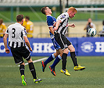 Newcastle United plays HKFC Captain's Select during the HKFC Citibank International Soccer Sevens at the Hong Kong Football Club on 25 May 2013 in Hong Kong, China. Photo by Victor Fraile / The Power of Sport Images