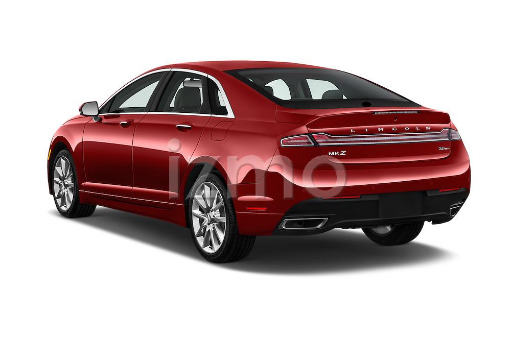 Car pictures of rear three quarter view of 2016 Lincoln MKZ - 4 Door Sedan Angular Rear