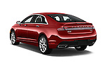 Car pictures of rear three quarter view of 2016 Lincoln MKZ - 4 Door Sedan Angular Rear
