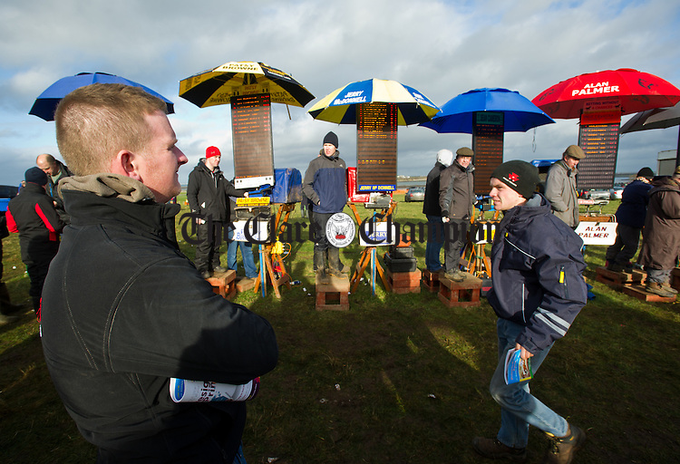 A punter weighs up the odds at the County Clare Hunt Point To Point in Bellharbour. Photograph by John Kelly.