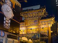 Wangfujing-Snackstreet iin Peking, China, Asien<br /> Wangfijing snack-street, Beijing, China, Asia