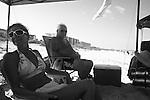 Lori and Stanley in Fernandina Beach, Fla. July 24, 2010.