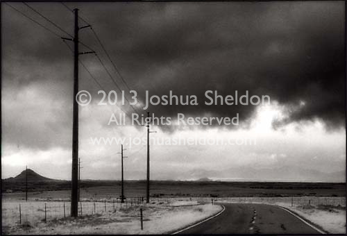 Stormy sky and power lines<br />