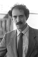 Montreal (qc) CANADA - file Photo - 1990 - <br /> <br /> <br /> 'Montreal city councillor  Marvin Rotrand , exclusive photo -<br /> <br /> <br />  - Marvin Rotrand is one of the possible replacement of Mayor Gerald Tremblay who resigned November 5, 2012.