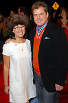 """As part of the Cinema Arts Festival Houston, Christine Starkman and Patrick Kwiatkowski on the red carpet outside the Museum of Fine Arts Houston before a screening of Richard Linklater's """"Me and Orson Welles""""  Wednesday Nov. 11,2009. (Dave Rossman/For the Chronicle)"""