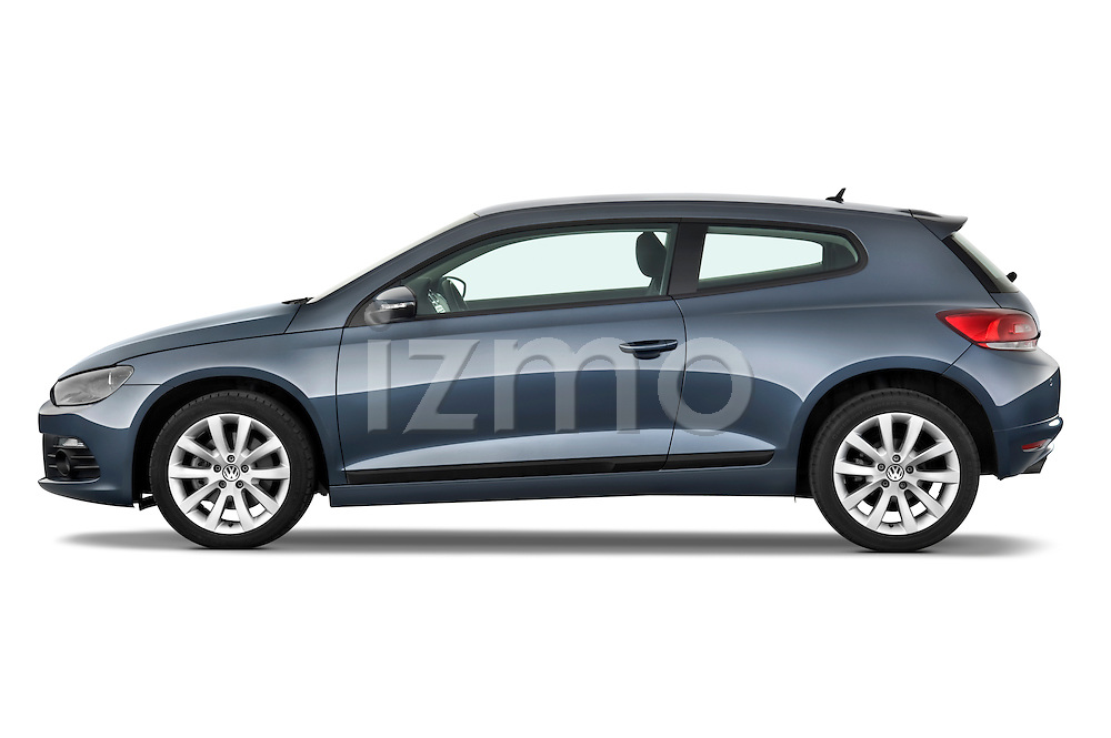 Driver side profile view of a 2009 Volkswagen Scirocco.