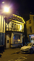 ALEX WEST STORY<br />Pictured: Exterior view of Downies Vaults bar on Eastgate Street, Aberystwyth, Wales, UK. Thursday 10 February 2017<br />Re: Rugby player Gareth Davies seen on mobile phone footage assaulting people