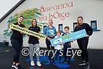 Áiseanna na hÓige Teo playschool/creche in Dingle are holding a fundraiser for the school. Frront l to r: Ciara Ní Mhathúna, Dearvla Ní Chearna, Fiona Nic Gearailt, Micheal and Jack O'Dudha and Ellen Ní Gearailt