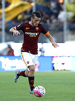 Calcio, Serie A: Frosinone vs Roma. Frosinone, stadio Comunale, 12 settembre 2015.<br /> Roma's Alessandro Florenzi in action during the Italian Serie A football match between Frosinone and Roma at Frosinone Comunale stadium, 12 September 2015.<br /> UPDATE IMAGES PRESS/Isabella Bonotto